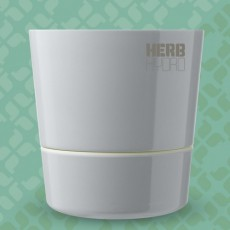 Herb Hydro pot Grey