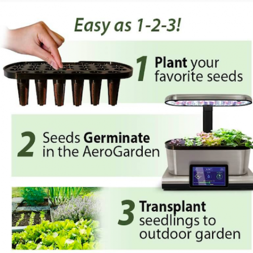 Aerogarden Seed Starting System Classic  Harvest